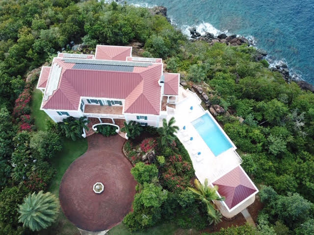 St. Thomas Pool House